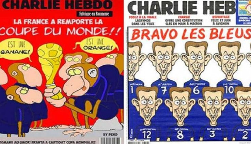 Verify Sy Charlie Hebdo Didn T Publish A Racist Cartoon Of French Footballers